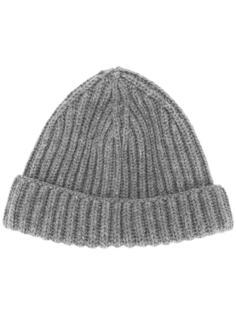 шапка-бини в рубчик  Zanone