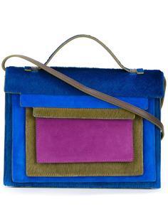 сумка через плечо с многослойным дизайном Jamin Puech