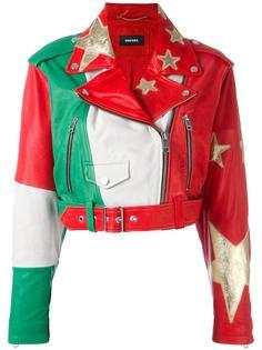 байкерская куртка 'stars' Diesel