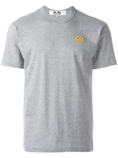 футболка с нашивкой Comme Des Garçons Play