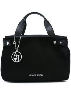 сумка-тоут с меховым эффектом Armani Jeans