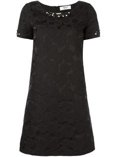 декорированное жаккардовое платье Blugirl