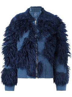 пушистая куртка на молнии 3.1 Phillip Lim