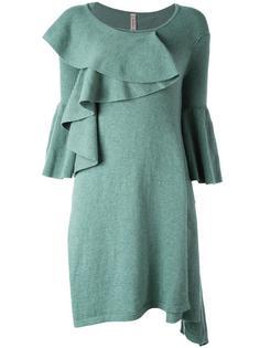 трикотажное платье с оборками Antonio Marras