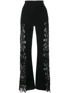 брюки с кружевными панелями Jonathan Simkhai