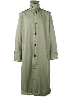 длинное пальто Maison Margiela