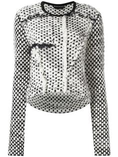 chunky knit jumper  Rochas