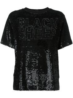 футболка с пайетками Ashish