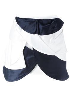 многослойная мини-юбка  J.W.Anderson