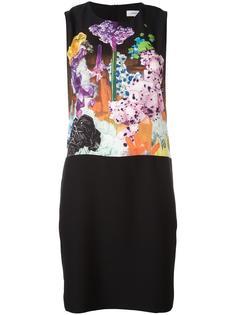 платье-шифт с принтом Carven