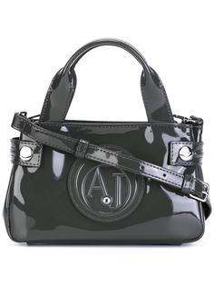 мини сумка-тоут с тисненым логотипом Armani Jeans