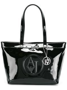 сумка на плечо с тисненым логотипом Armani Jeans