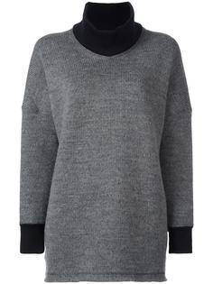 свитер свободного кроя с V-образным вырезом Junya Watanabe Comme Des Garçons