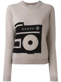 кашемировый свитер с принтом Paul Smith