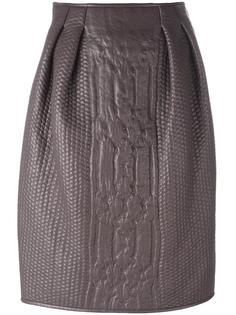 юбка с вязаным эффектом  Agnona