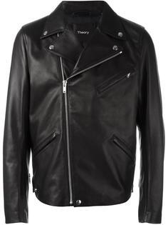 классическая байкерская куртка Theory