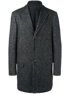 овчинное пальто на молнии Fay