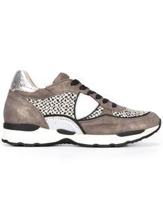 кроссовки с заплатками по бокам Philippe Model
