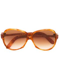 солнцезащитные очки в объемной оправе Yves Saint Laurent Vintage