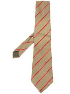 галстук в полоску Versace Vintage