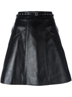 юбка А-образного силуэта Coach