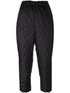 стеганые брюки-шаровары  Comme Des Garçons