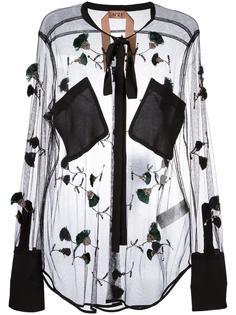 декорированная блузка  Nº21