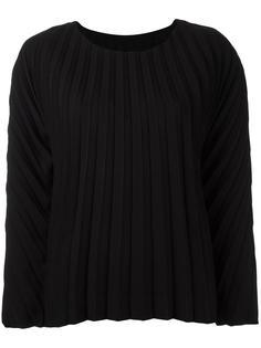 плиссированная блузка с длинными рукавами Issey Miyake
