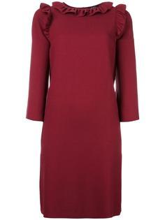платье с оборками A.P.C.