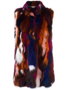 меховой жилет Forte Couture
