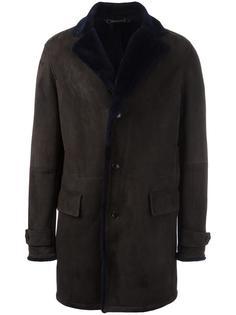 пальто на пуговицах  Ermenegildo Zegna