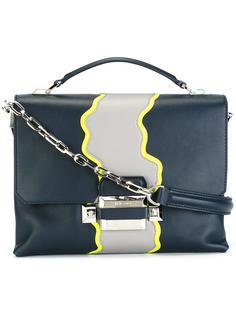 сумка на плечо с волнистой окантовкой Versace