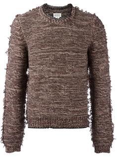 вязаный свитер с необработанными краями Maison Margiela