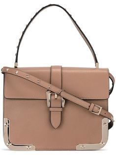 сумка на плечо со звездами Red Valentino
