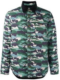 camouflage print jacket  Maison Kitsuné