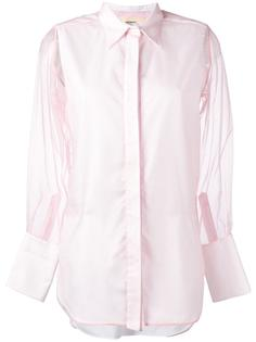 рубашка с прозрачными рукавами Ports 1961