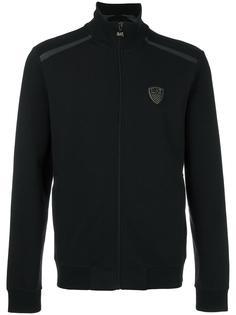 logo print sport jacket Ea7 Emporio Armani