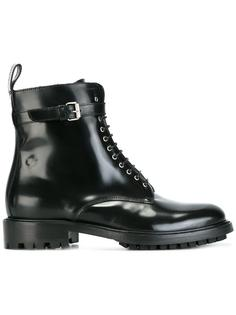 lace-up buckle ankle boots Belstaff