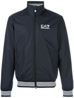 contrast trim bomber jacket Ea7 Emporio Armani