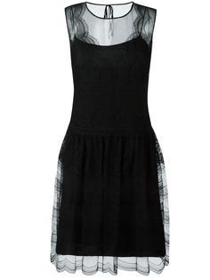 кружевное платье без рукавов Alberta Ferretti