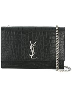 большая сумка-сэтчел 'Kate Monogram' Saint Laurent