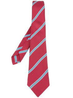 полосатый галстук Kiton