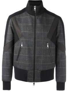 куртка-бомбер на молнии Neil Barrett