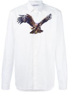 рубашка с принтом орла Neil Barrett