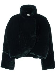 oversized standing collar jacket Isa Arfen