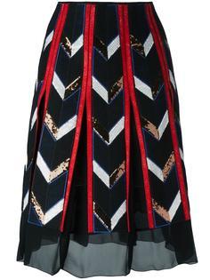 юбка А-образного силуэта Emilio Pucci