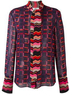 printed blouse Steve J & Yoni P