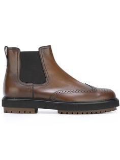 ботинки Челси в стиле брог Tod's