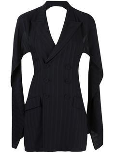 'Adam Et Eve Rastas D'Aujoud Hui' backless jacket dress Jean Paul Gaultier Vintage