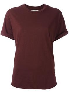футболка с вышивкой на рукавах Sandrine Rose